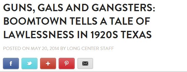 Long Center article